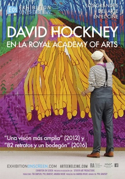 David Hockney en la Royal Academy of Arts (VE)