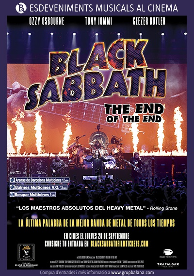 Black Sabbath. The End of The End