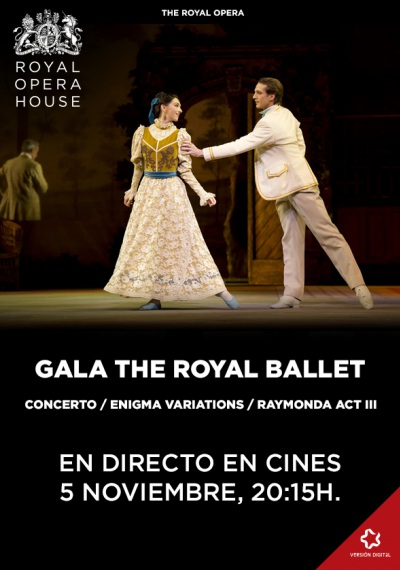 Gala The Royal Ballet - En directo desde el Royal Opera House de Londres