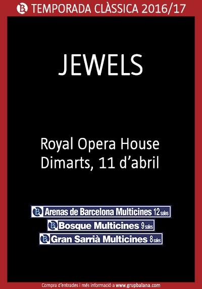 Jewels  - Royal Opera House - En directe