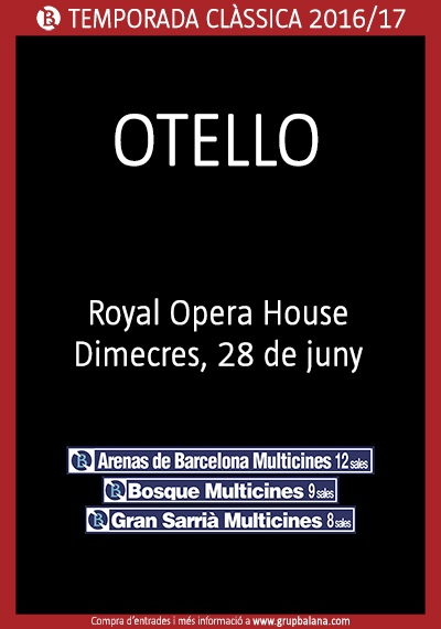 Otello - Royal Opera House - Live