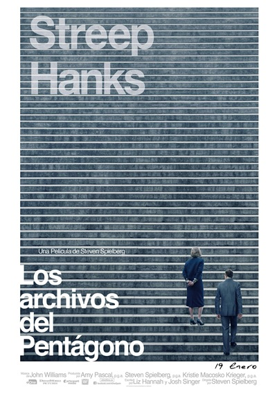 Resultado de imagen de LOS ARCHIVOS DEL PENTAGONO AFICHE