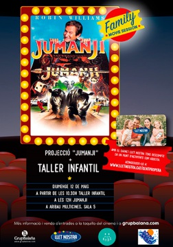 Jumanji - Family Movie Session