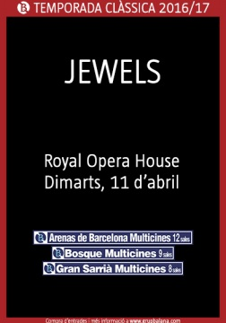 Jewels  - Royal Opera House - En directo