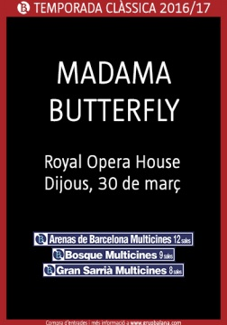 Madama Butterfly - Royal Opera House - En directe