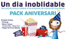 Un dia inoblidable - Pack aniversari